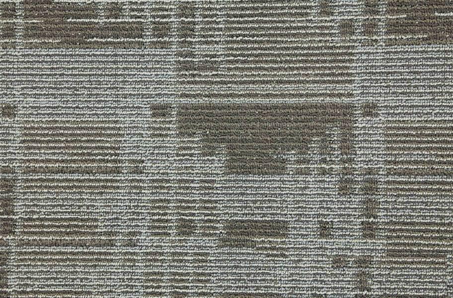 Set In Motion Carpet Tile - Titanium