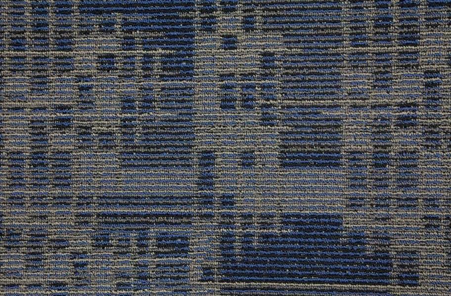 Set In Motion Carpet Tile - Indigo Batik
