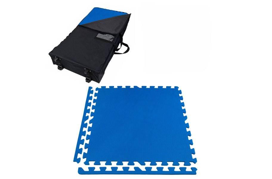 Eco-Soft Trade Show Kits - Wheeled Soft Case w/ 25 Tiles