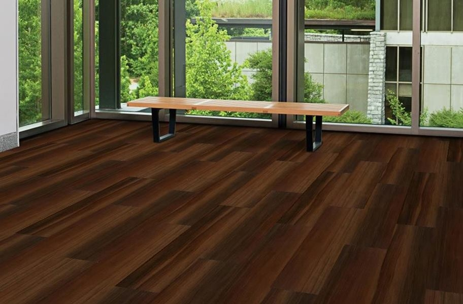 Abstract Loose Lay Vinyl Planks - Cafe