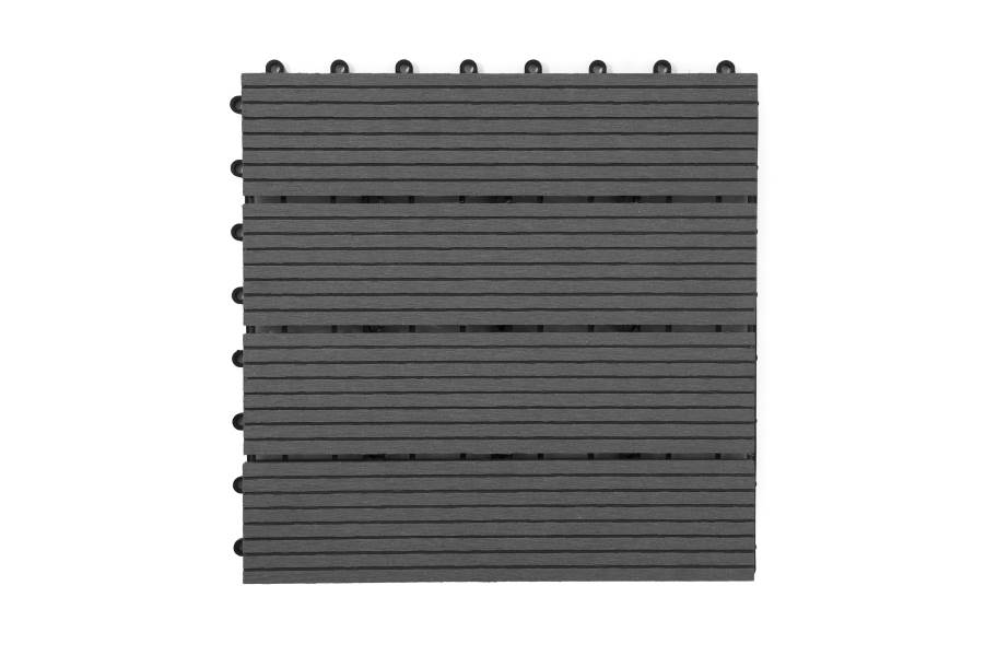 Naturesort Deck Tiles - Terrace (4 Slat) - Cement