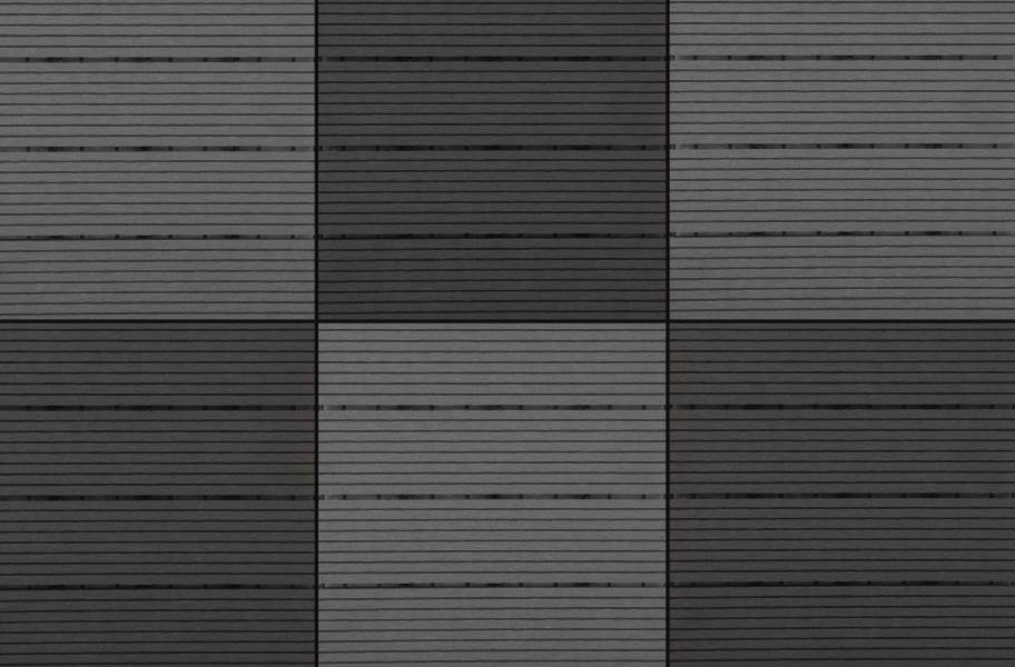 Naturesort Deck Tiles - Terrace (4 Slat) - Cement & Espresso