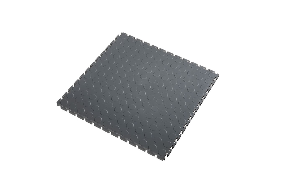 7mm Coin Flex Tiles - Dark Grey
