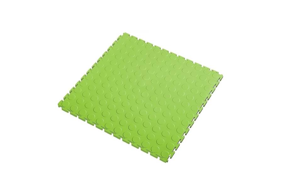 7mm Coin Flex Tiles - Light Green