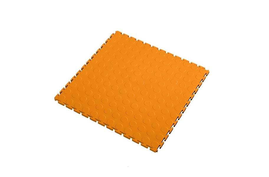 7mm Coin Flex Tiles - Orange