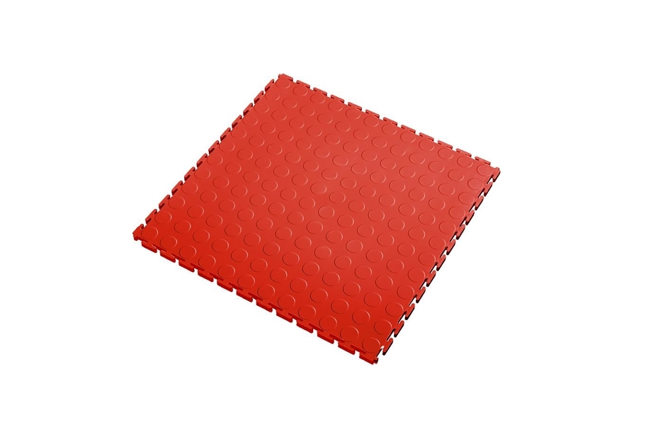 7mm Coin Flex Tiles - Red
