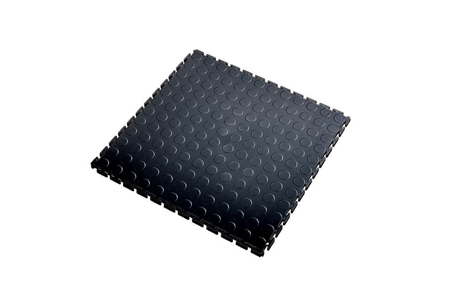 7mm Coin Flex Tiles - Black