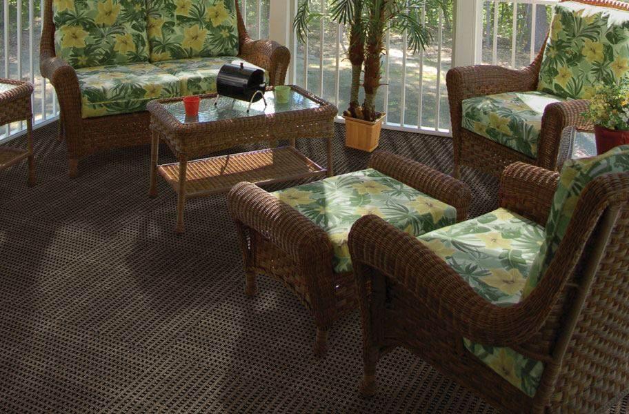 Interweave Carpet Tiles - Espresso