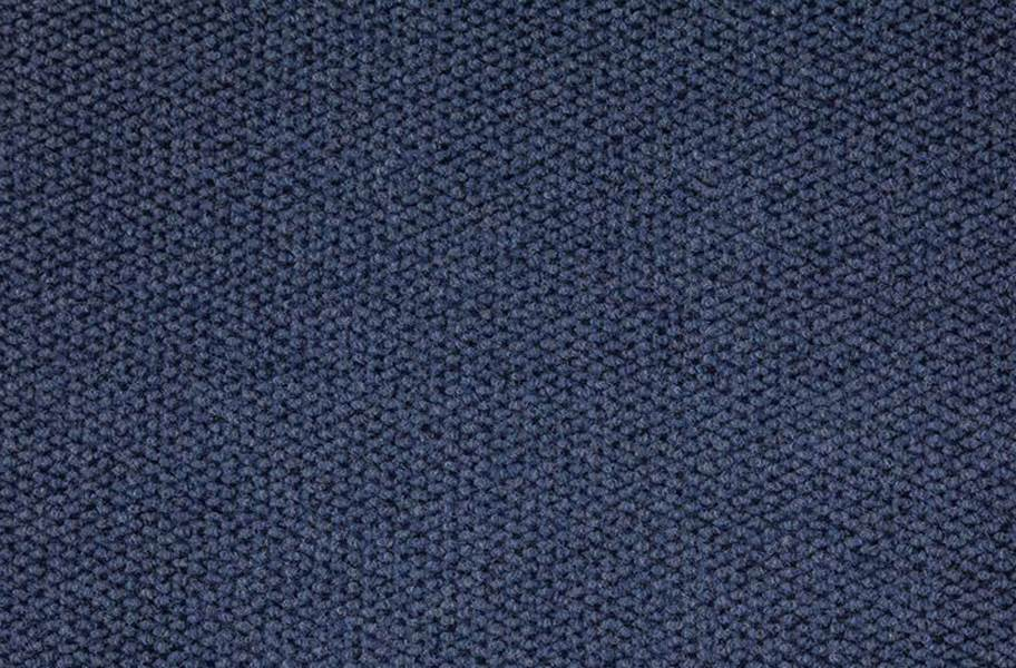 Premium Hobnail Carpet Tiles - Denim
