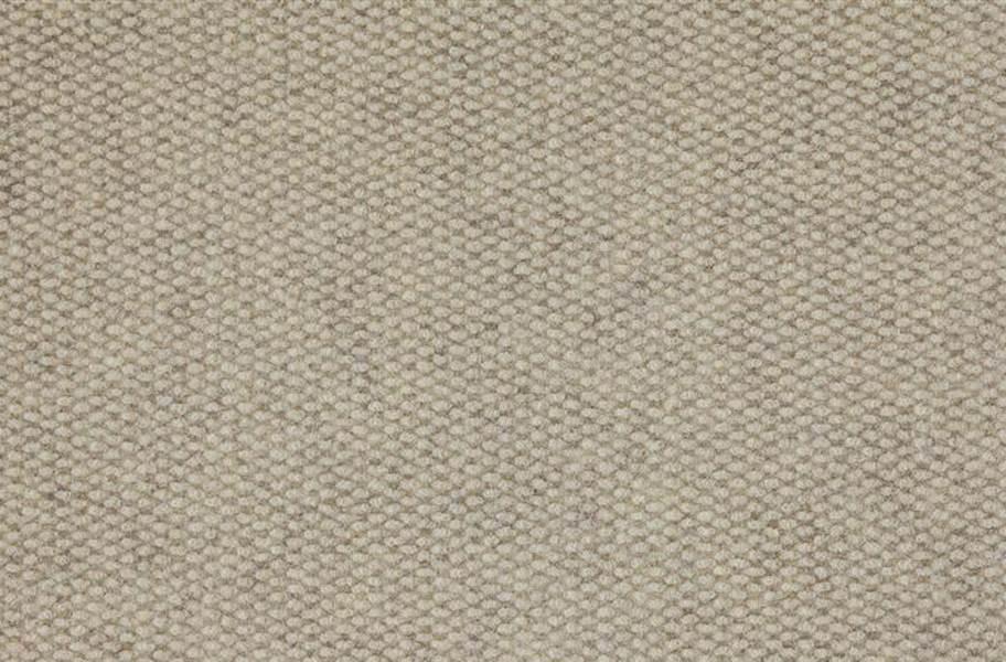 Premium Hobnail Carpet Tiles - Ivory