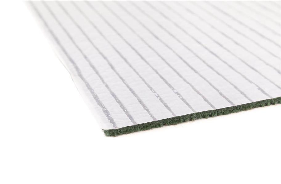 Premium Ribbed Carpet Tiles - Espresso