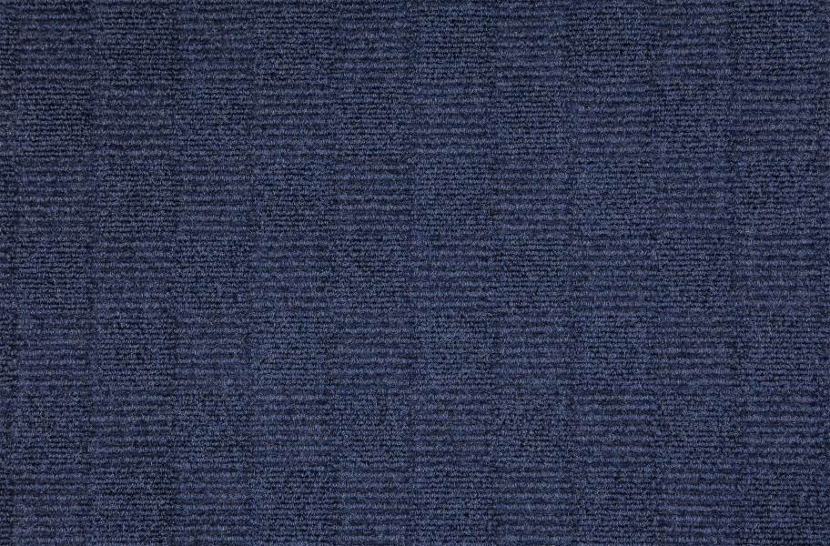 Weave Carpet Tiles - Ocean Blue