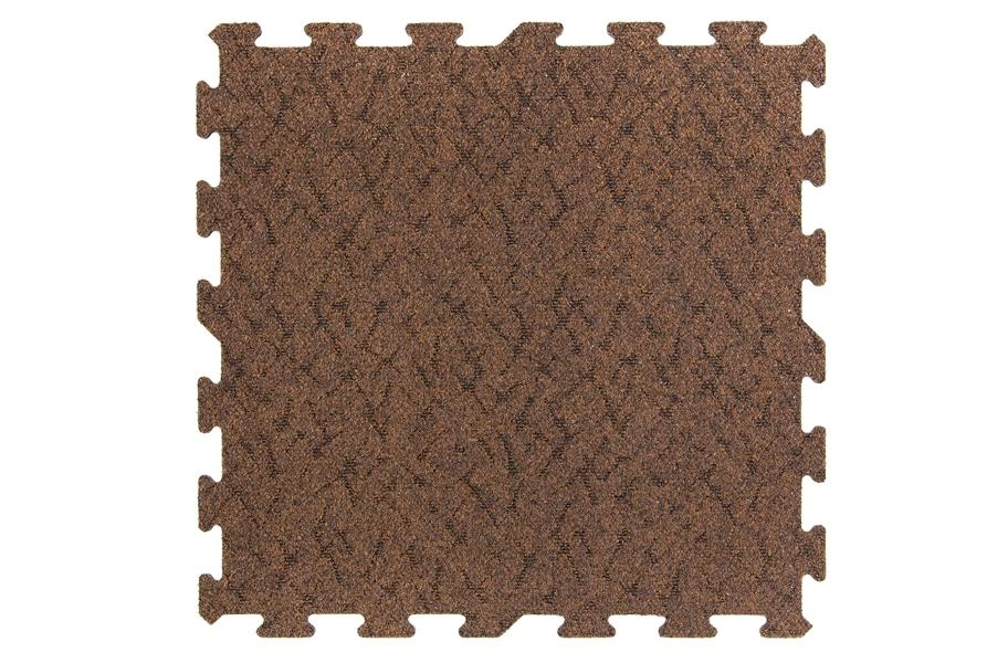 Designer Berber Rubber Carpet Tiles