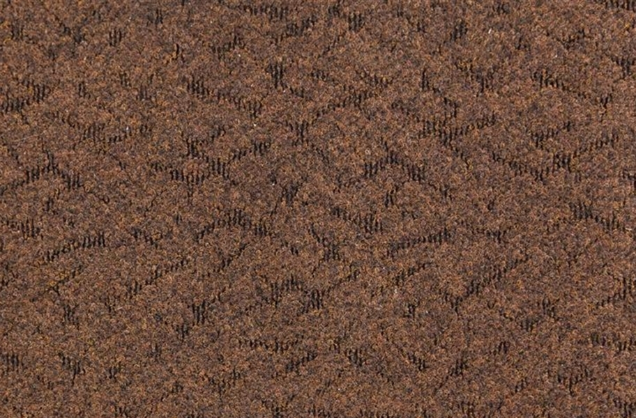 Designer Berber Rubber Carpet Tiles - Espresso