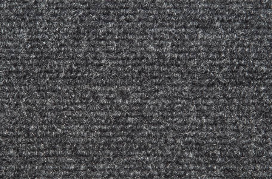Ribbed Carpet - Black Ice