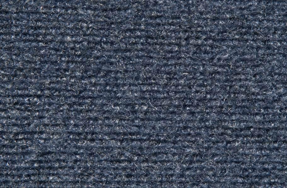 Ribbed Carpet - Ocean Blue