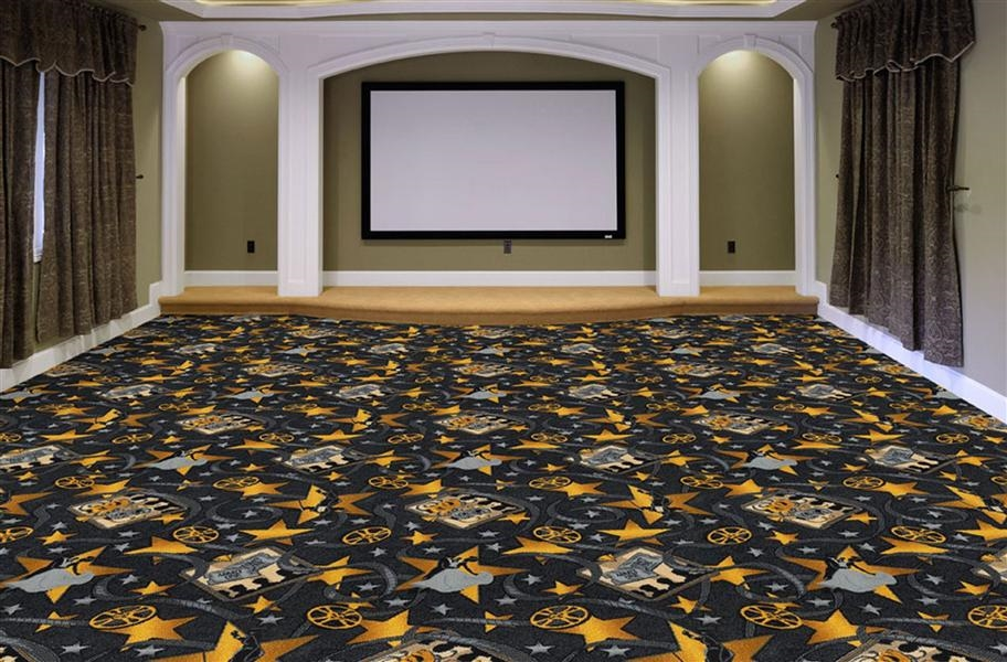Joy Carpets Silver Screen Carpet - Charcoal