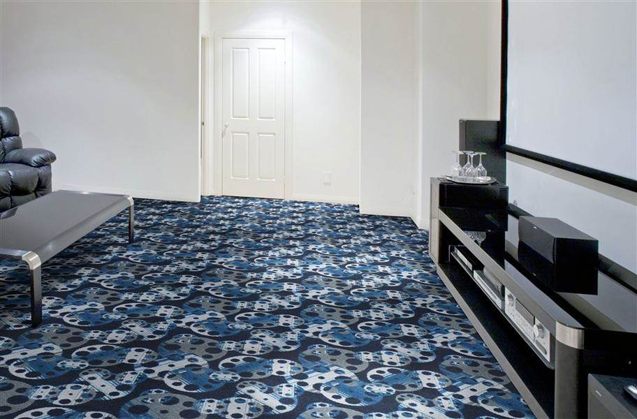 Joy Carpets Reeling Carpet - Slate