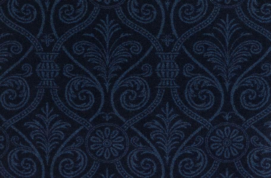 Joy Carpets Damascus Carpet - Navy