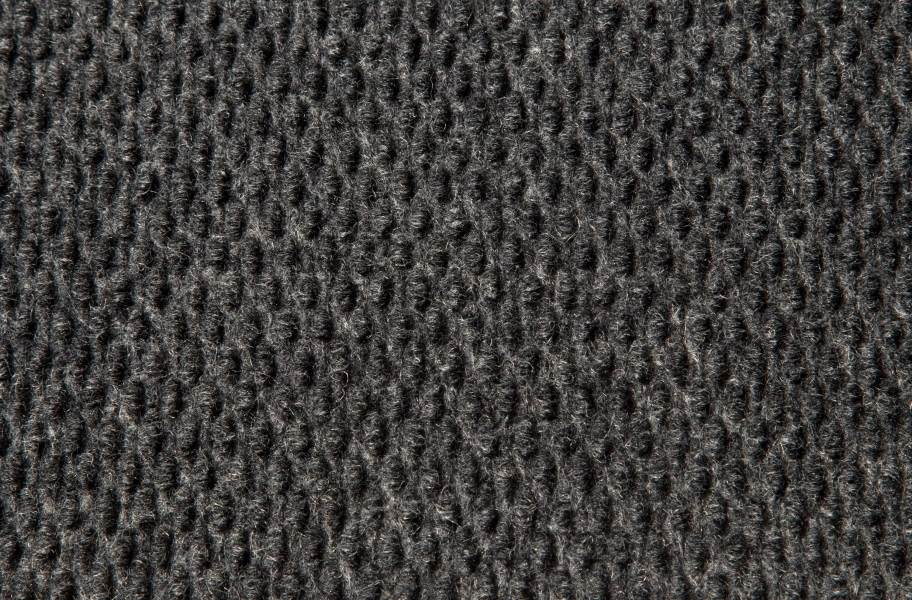 Hobnail Carpet - Black Ice