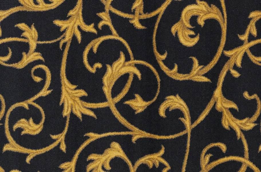 Joy Carpets Acanthus Carpet - Black