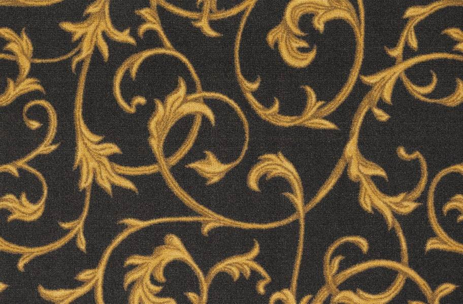 Joy Carpets Acanthus Carpet - Brown