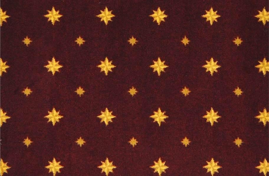 Joy Carpets Walk of Fame Carpet - Burgundy