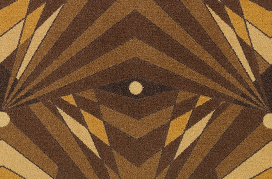Joy Carpets Deco Strobe Carpet - Brown