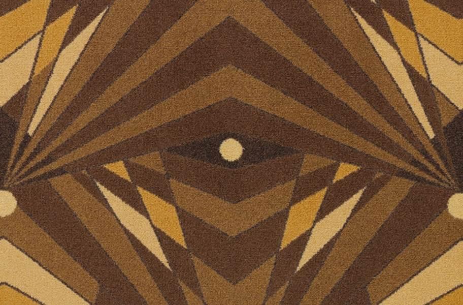 Joy Carpets Deco Strobe Carpet - Brown