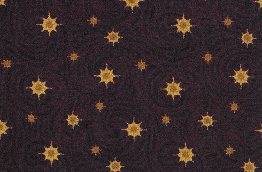 Joy Carpets Milky Way Carpet - Wine