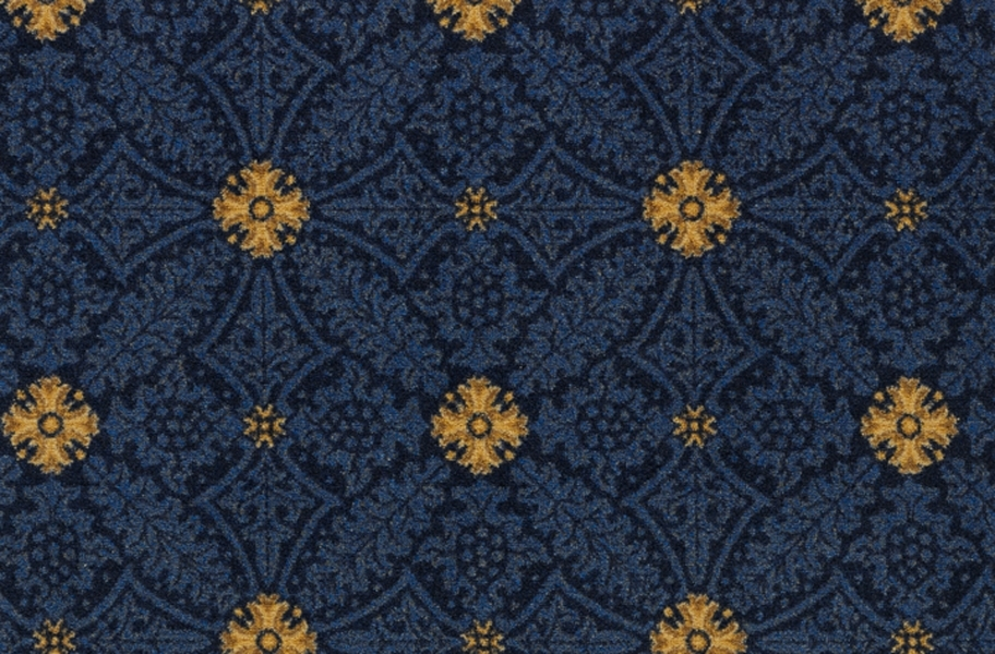 Joy Carpets Fort Wood Carpet - Navy