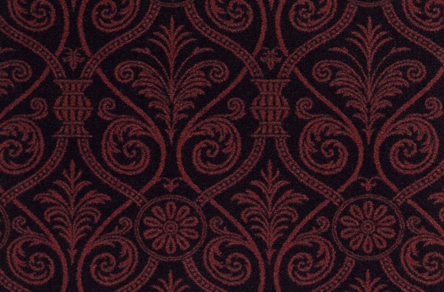 Joy Carpets Damascus Carpet - Burgundy