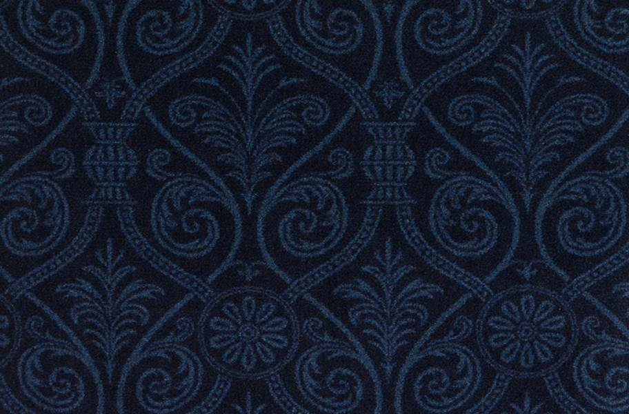 Joy Carpets Damascus Carpet - Navy