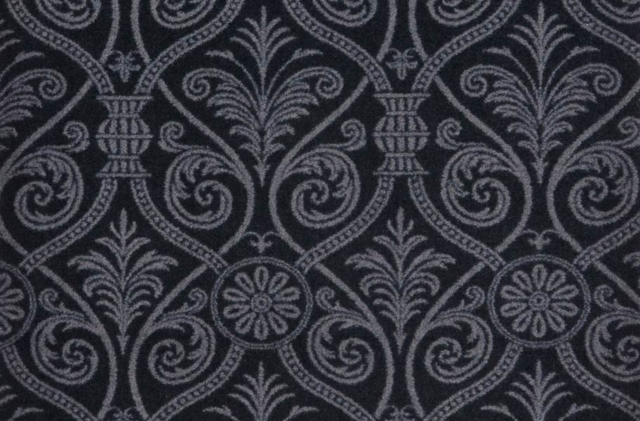 Joy Carpets Damascus Carpet - Black