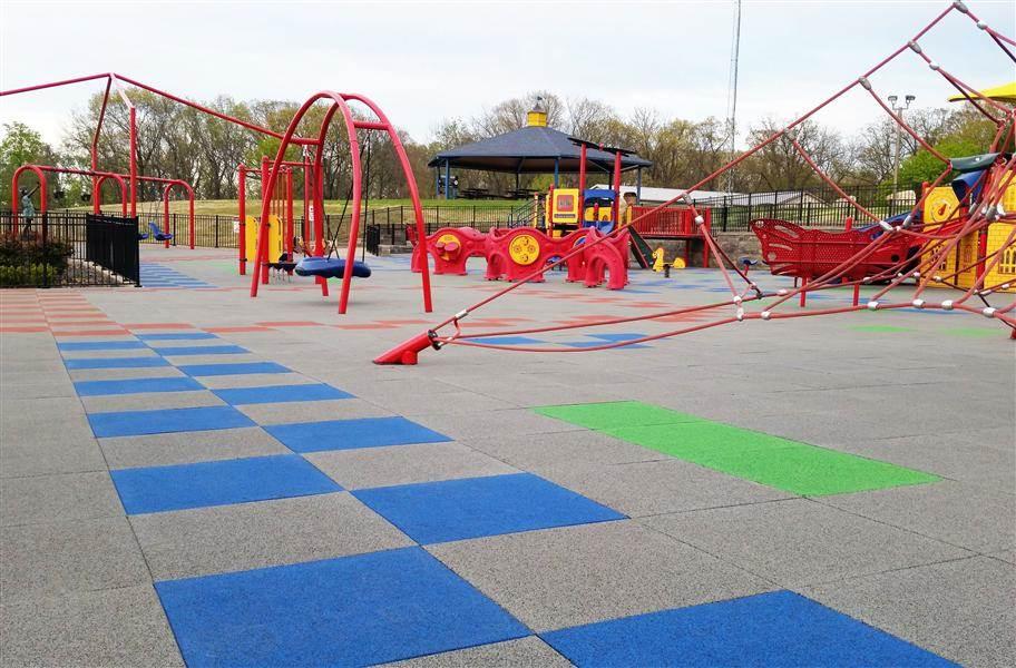PlaySafe Interlocking Playground Tiles
