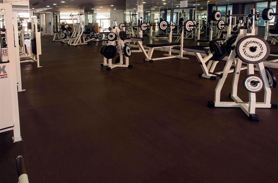 PAVIGYM 6mm Performance Rubber Tiles - Wengue