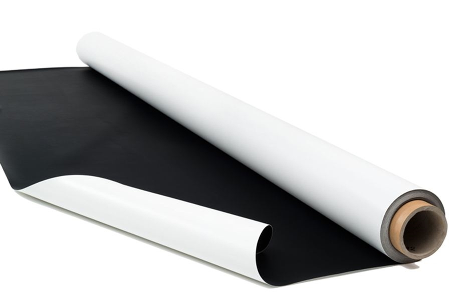 Rosco Dance Floor Rolls - Custom Cut - Black/White