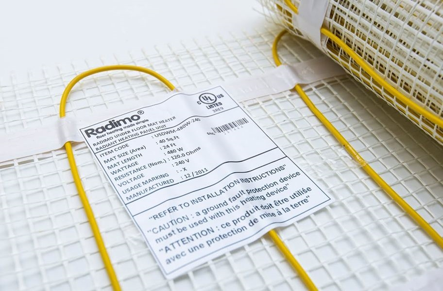 Radimo Radimat 120V Under Floor Heating System