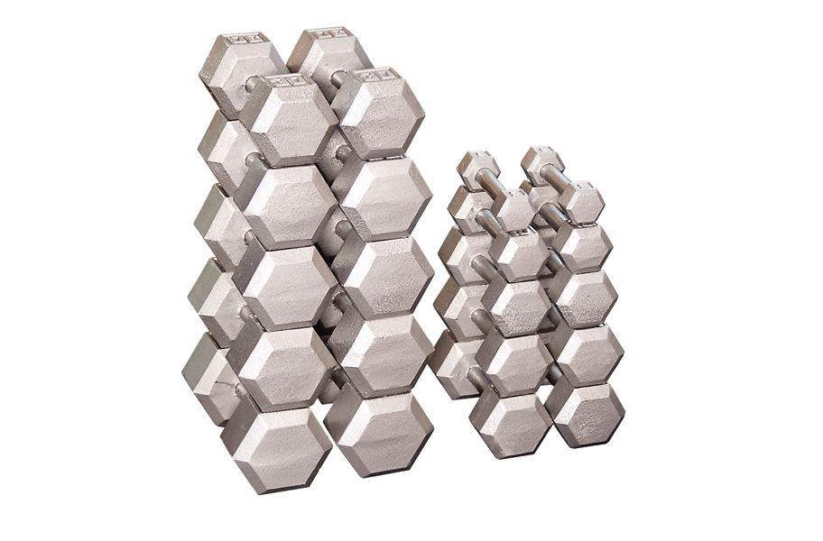 Body-Solid Hex Dumbbell Sets