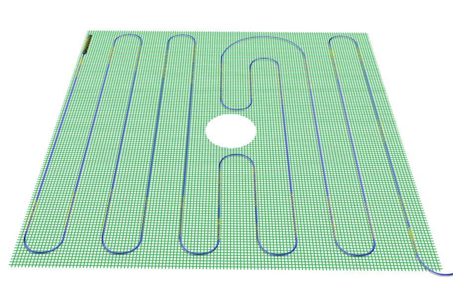 TempZone Easy Mat 120V Under Floor Heating Roll