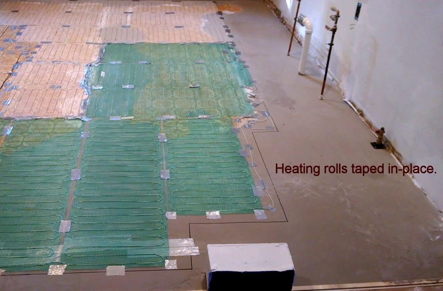 TempZone Easy Mat 120V Under Floor Heating Roll