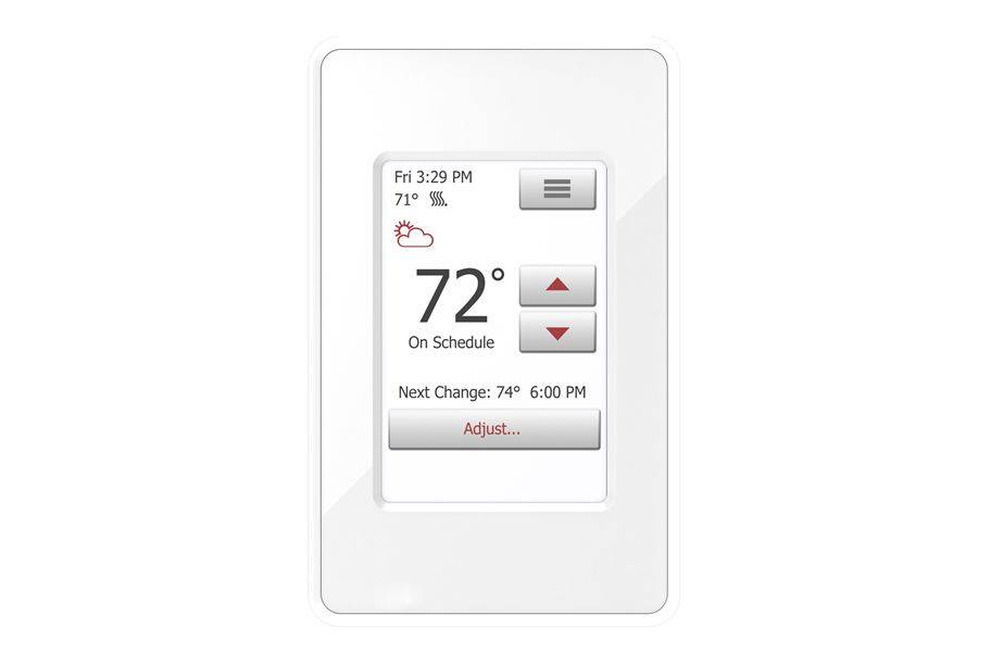 nSpire Touch Floor Heating Thermostat