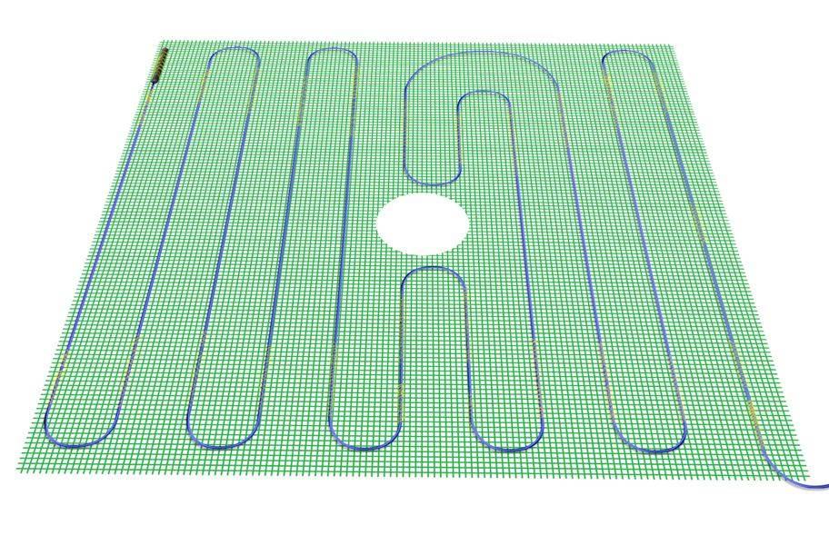 TempZone Flex Roll 120V Under Floor Heating Roll