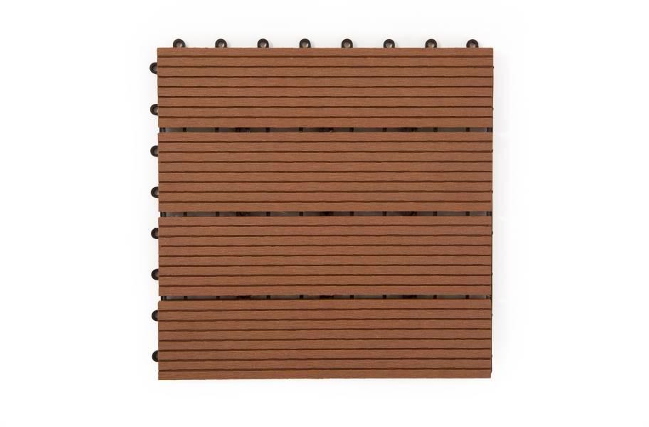 Naturesort Deck Tiles - Terrace (4 Slat) - Clay