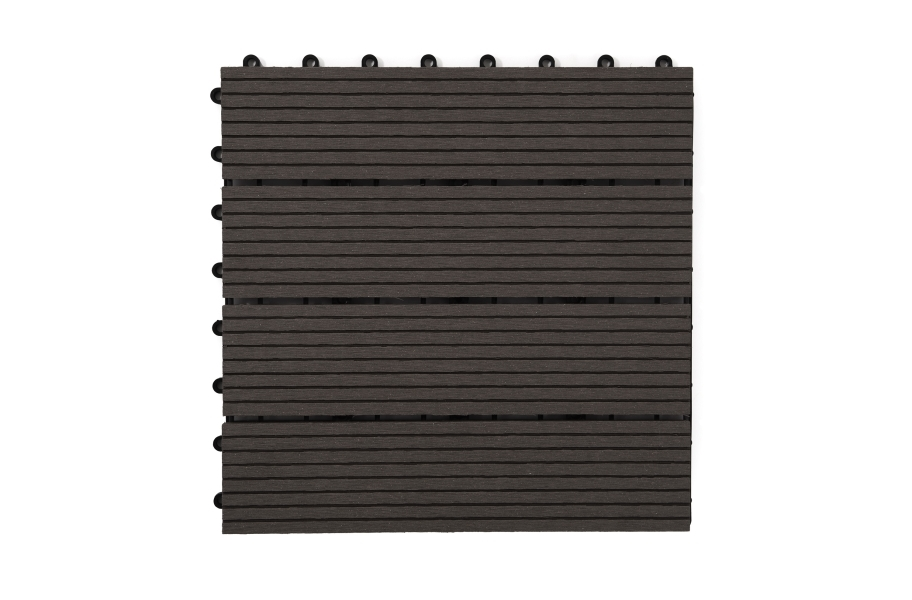 Naturesort Deck Tiles - Terrace (4 Slat) - Espresso