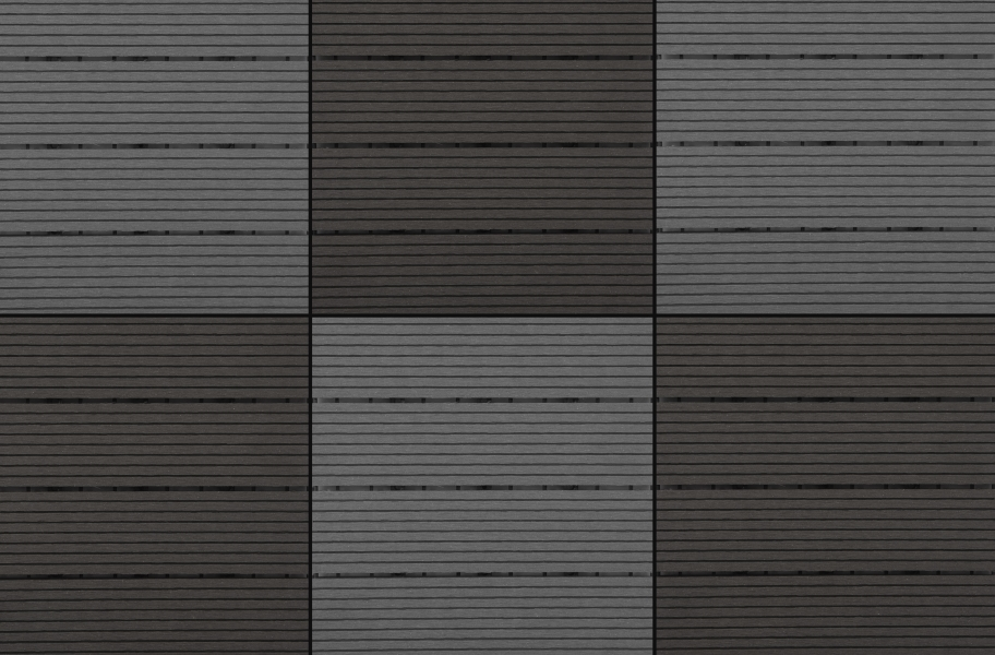 Naturesort Deck Tiles - Terrace (4 Slat) - Cement & Espresso