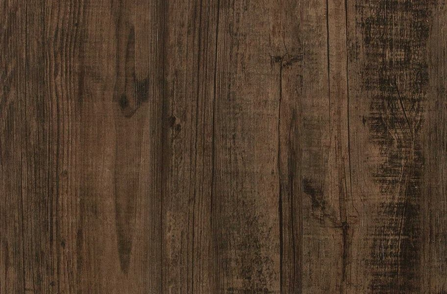 Tarkett Aloft Vinyl Planks - Black and Tan