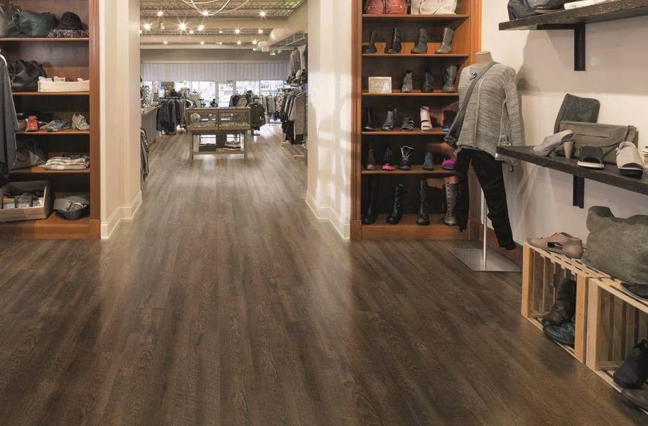 Tarkett Aloft Vinyl Planks - Pewter
