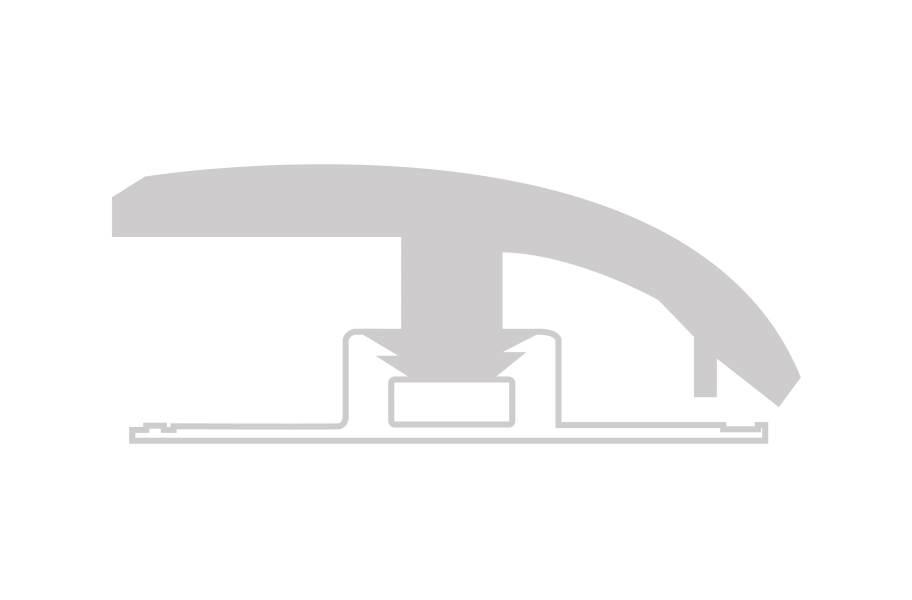"""COREtec Design Plus .46"""" x 1.46"""" x 94"""" Reducer"""