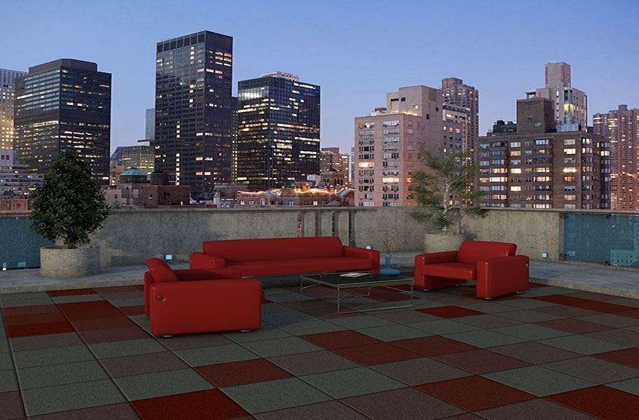 Deck Top Roof Tiles